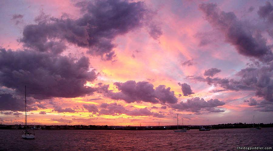 081203 Beautiful Skies Over Botany Bay Photoletter